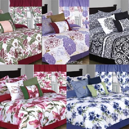 7pc Comforters